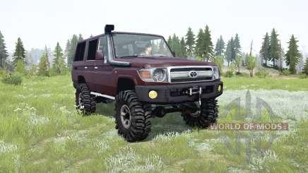 Toyota Land Cruiser 70 (J76) 2007 für MudRunner
