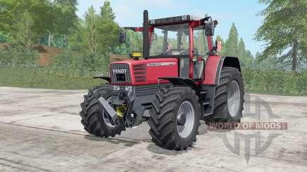 Fendt Favorit 509-515 C pour Farming Simulator 2017