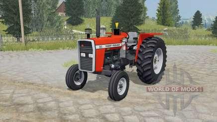 Massey Ferguson 265 coquelicot pour Farming Simulator 2015