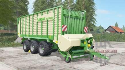 Krone ZX 550 GD chateau green für Farming Simulator 2017