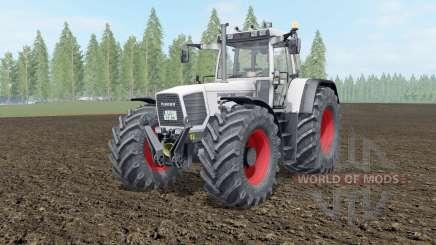 Fendt Favorit 816-824 Turboshift white smoke pour Farming Simulator 2017