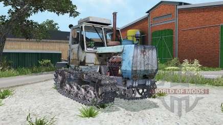 T-150-05-09 modérément couleur bleu pour Farming Simulator 2015