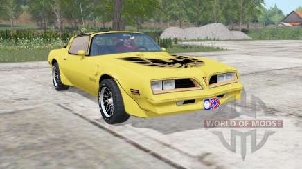 Pontiac Firebird Trans Am 1977 pour Farming Simulator 2017
