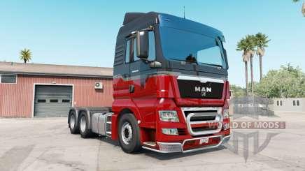 MAN TGX rosso corsa für American Truck Simulator