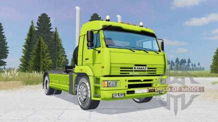 KamAZ-5460 vert lime-couleur pour Farming Simulator 2015