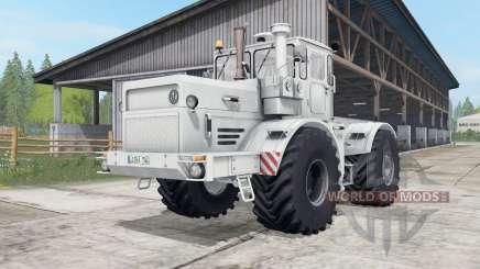 Kirovets K-700A gräulich-weiße Farbe für Farming Simulator 2017