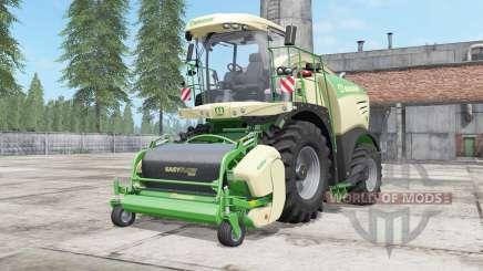 Krone BiG X 480 lime green pour Farming Simulator 2017