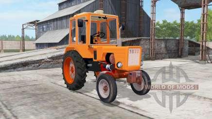 T-25A lumineux de couleur orange pour Farming Simulator 2017
