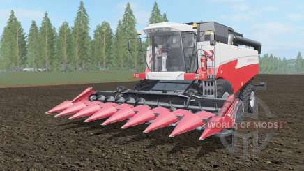 Acros 595 Mehr coral red color für Farming Simulator 2017