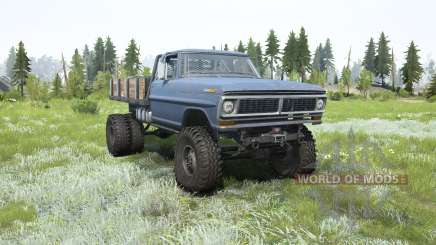 Ford F-350 Dually pour MudRunner