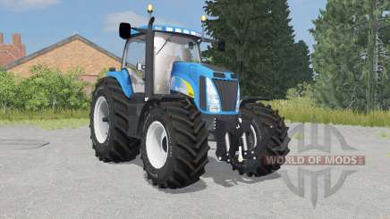 New Holland T8020 process cyan für Farming Simulator 2015