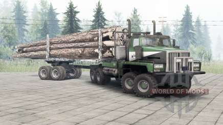 Western Star 6900TS v1.2 spring leaves pour Spin Tires