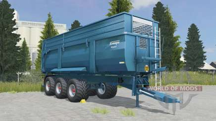 Krampe Big Body 900 S eastern blue pour Farming Simulator 2015