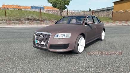 Audi RS 6 (C6) sedan 2008 pour Euro Truck Simulator 2
