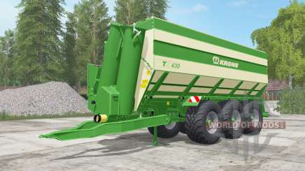 Krone TX 430 north texas green für Farming Simulator 2017