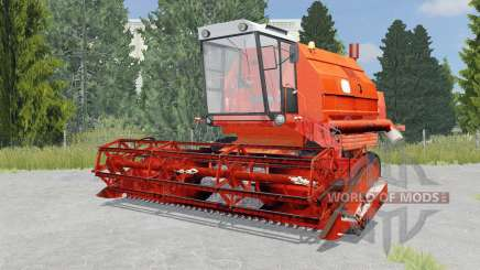 Bizon Gigant Z083 international orange pour Farming Simulator 2015