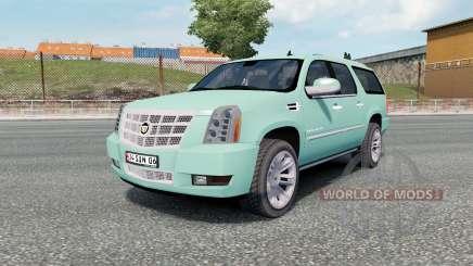 Cadillac Escalade ESV Platinum Edition 2008 für Euro Truck Simulator 2