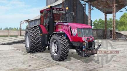 MTZ-3022ДЦ.1 Biélorussie une couleur rouge vif pour Farming Simulator 2017