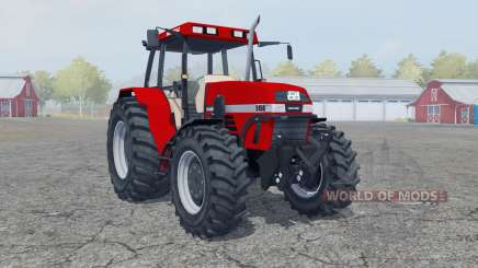 Case IH Maxxum 5150 boston university red für Farming Simulator 2013