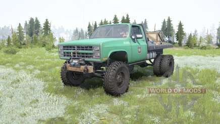 Chevrolet K30 Dually pour MudRunner