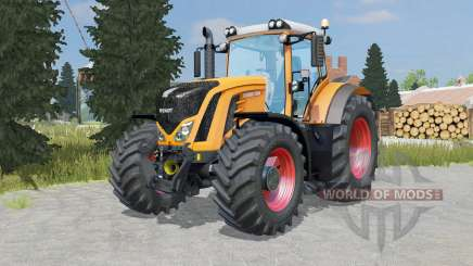 Fendt 927-939 Vario pastel orange pour Farming Simulator 2015