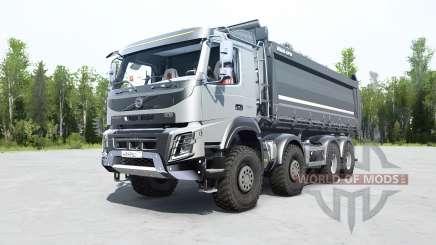Volvo FMX 500 8x8 tipper für MudRunner