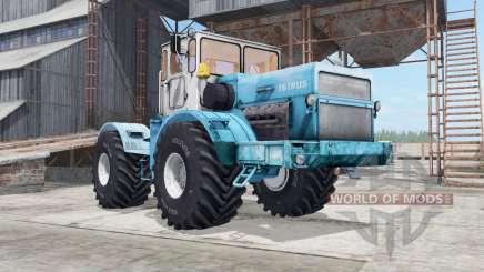 Kirovets K-700a variateur électronique de couleur turquoise pour Farming Simulator 2017