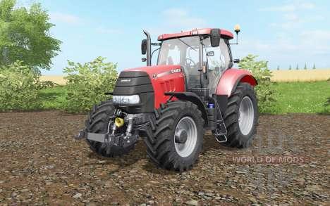 Case IH Puma 160 CVX deep carmine pink für Farming Simulator 2017