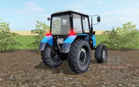 MTZ-Belarus 1021 blau Farbe für Farming Simulator 2017