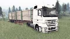 Mercedes-Benz Actros (MP3) pour Spin Tires