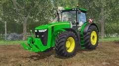 John Deere 7290R&8370R IC control pour Farming Simulator 2015