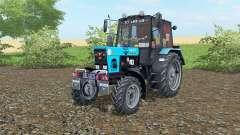 MTZ-82.1 Biélorussie couleur bleu pour Farming Simulator 2017