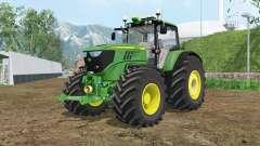 John Deere 6170M wheels weights pour Farming Simulator 2015