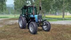 MTZ-Biélorussie 1025 couleur bleu pour Farming Simulator 2015