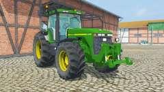 John Deere 8400 ruckfahrkamera pour Farming Simulator 2013
