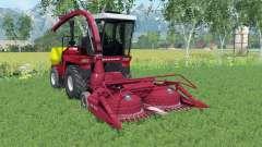 Palesse 2U250A avec les moissonneurs pour Farming Simulator 2015