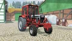 MTZ-82 Belarus orange-rote Farbe für Farming Simulator 2013