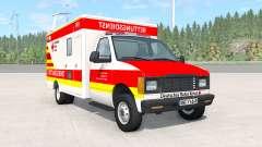 Gavril H-Series German Ambulance v1.3 für BeamNG Drive