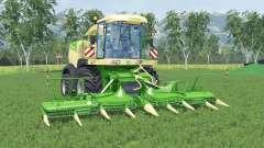 Krone BiG X 580 chaux greeɳ pour Farming Simulator 2015