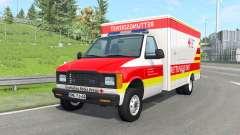 Gavril H-Series German Ambulance v1.4 pour BeamNG Drive