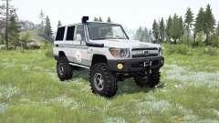 Toyota Land Cruiser 70 (J76) 2007 ICRC für MudRunner