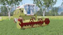 Claas Dominator 86 olive green pour Farming Simulator 2015