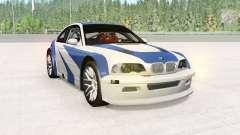 BMW M3 GTR (E46) NFS MW Edition pour BeamNG Drive