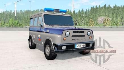 UAZ Antigénique COP pour BeamNG Drive