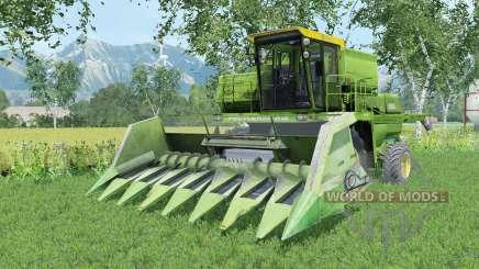 Don-1500A moderate-grüne Farbe für Farming Simulator 2015