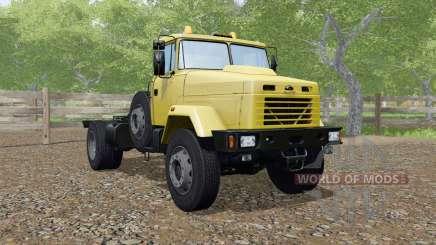KrAZ-5133-Farbe gelb für Farming Simulator 2017