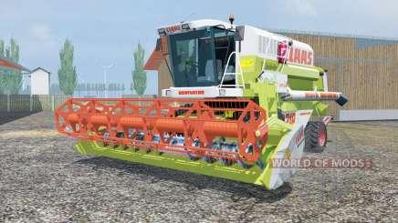 Claas Mega 218 MoreRealistic für Farming Simulator 2013