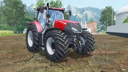 Case IH Optum 300 CVX vivid red pour Farming Simulator 2015