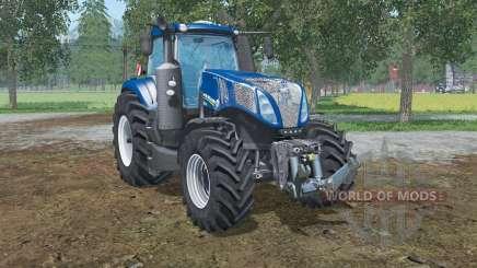 New Holland T8.320  lowering tire pressure für Farming Simulator 2015
