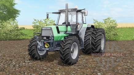 Deutz-Fahr AgroStar 6.61 wheels selection für Farming Simulator 2017
